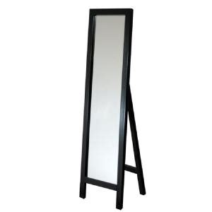 100 floors free 89 deco mirror 18 in x 64 in single easel floor mirror in