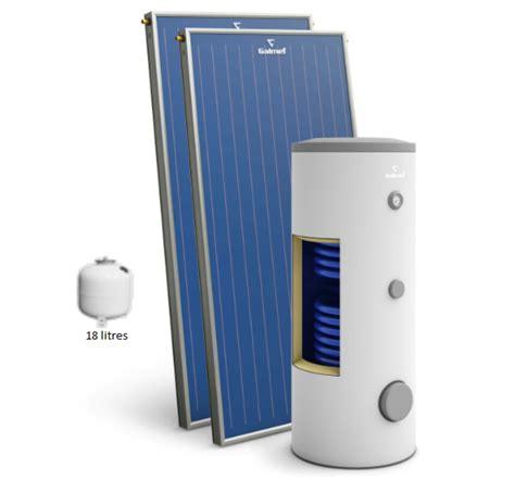 chauffe eau solaire atlantic 2349 kit chauffe eau solaire 200l la compagnie du chauffage