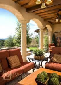 Italian Patio Design Italian Tuscan Loggia Mediterranean Patio Santa Barbara By Maraya Interior Design