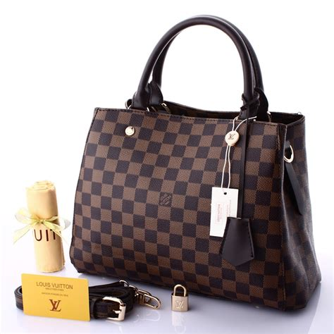 Tas Large tas louis vuitton montaigne large damier semi premium 2016