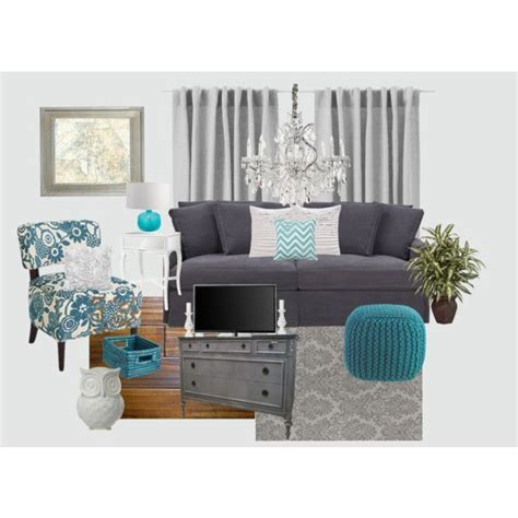 color palette turquoise orange brown polyvore 72 best living room decor brown blue and white palette