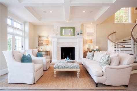living room retreat with a coastal feel in this living cozy beach retreat in corona del mar