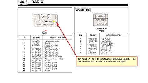 2000 ford mustang stereo wiring diagram efcaviation
