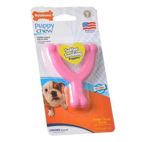 nylabone puppy chew nylabone nylabone puppy chew wishbone chew pink toys nylabone