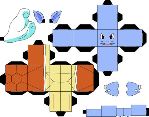 Squirtle Origami - 16 best photos of paper templates