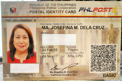 postal bank philippines new postal id requirements fees and guidelines