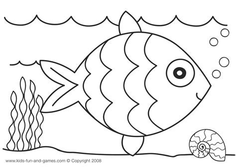 fish coloring pages for kindergarten crepe paper collage rainbow fish craft artsy craftsy mom