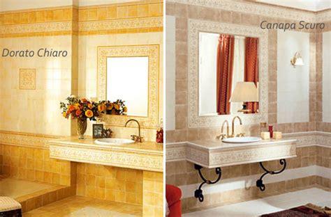 piastrelle bagno 15x15 piastrelle decorate a mano decoratori bassanesi dorato