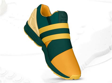 Addidas Slip On Premium masonfanstuff green gold adidas zx flux slip on
