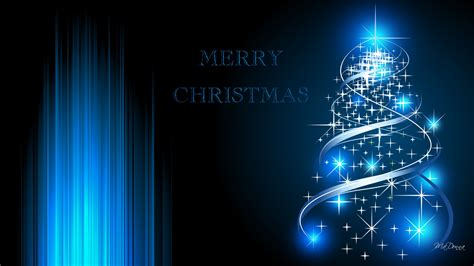 christmas wallpapers with blue lights blue background wallpapersafari