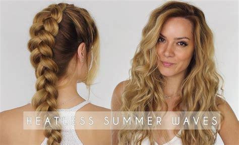 heatless hairstyles tutorials 25 best ideas about overnight braids on pinterest
