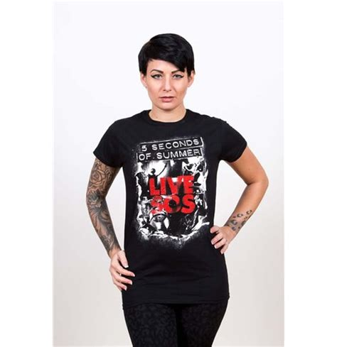 Tshirt 5 Seconds Of Summer official 5 seconds of summer t shirt 248787 buy on