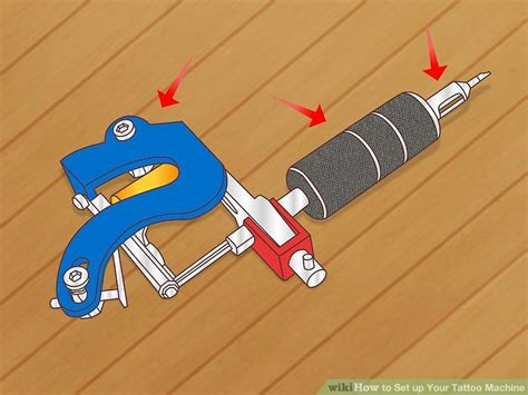 tattoo setup how to set up your machine with pictures wikihow