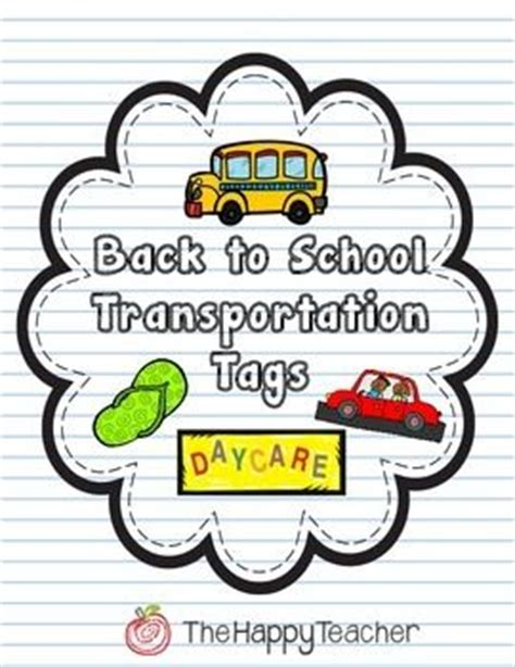 Transportation Buses And Back To School On Pinterest Car Rider Sign Template