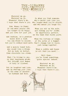 Funny wedding readings for your ceremony   wedding script