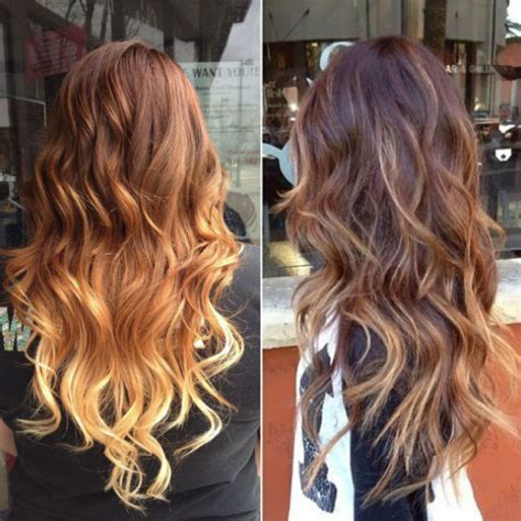 best blonde caramel highlights with ombre curly hairstyles vpfashion