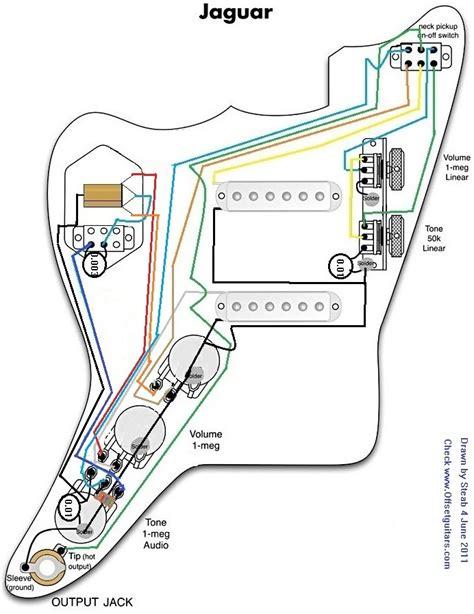 fender jaguar wiring diagram fender jaguar strangle switch
