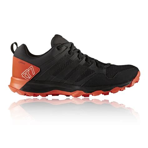 mens waterproof sneakers adidas kanadia 7 mens orange black tex waterproof