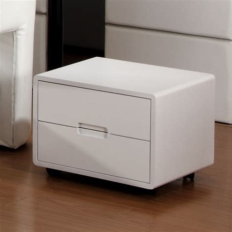 minimalist bedside table white bedside table 187 inoutinterior