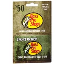 Bass Pro Gift Card Locations - get 10 off a 50 bass pro shops gift card at publix starting saturday 183
