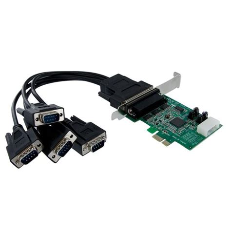 Serial 4 Port Pci Express Card pci express serial card 4 port 16950 uart includes