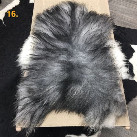 Grey Animal Skin Rug Sheepskin Rug Grey Hides Of Excellence