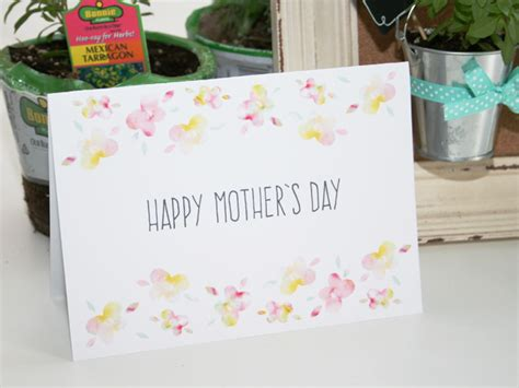 diy mother s day card mother s day diy mini herb garden