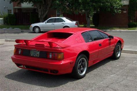 buy used 1993 lotus esprit turbo se coupe 2 door 2 2l in las vegas nevada united states