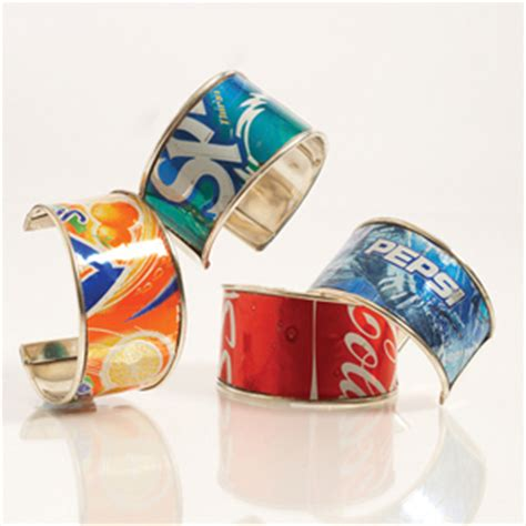 how to make recycled jewelry how to make recycled soda pop can bracelets jewelry