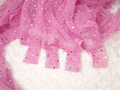 Pink Sparkle Curtains Sheer Pink Sparkle Curtain For Room Sequine Embellished Fabric 84 Inches 17 97
