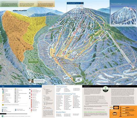 maine ski resorts map sugarloaf ski area map maine