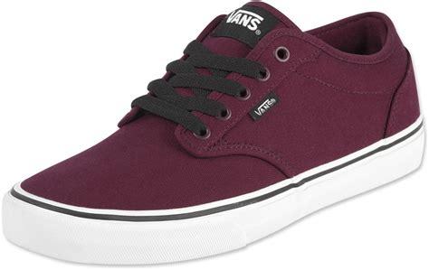 vans maroon shoes vans atwood shoes maroon
