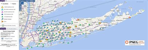 pse g outage map pseg island update power restored to 97 of