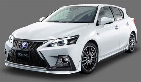 lexus ct200 2018 2018 lexus ct 200h now available with trd goodies auto