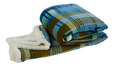 fleece sofa throw blanket checked blanket sherpa fleece reversible bed
