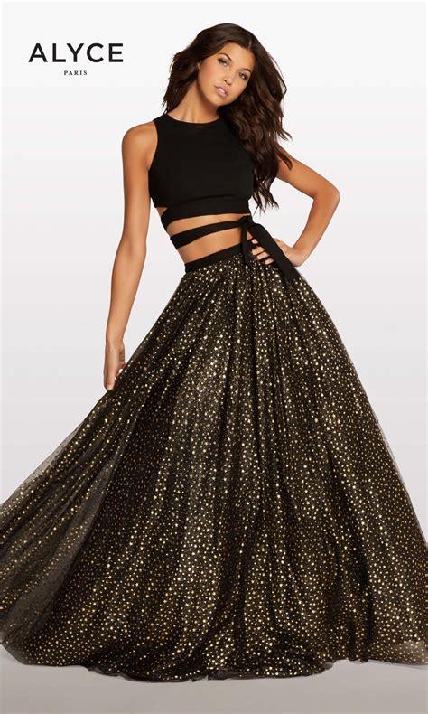 alyce prom 2016 dresses newyorkdress alyce paris kp123 two piece prom dress madamebridal com