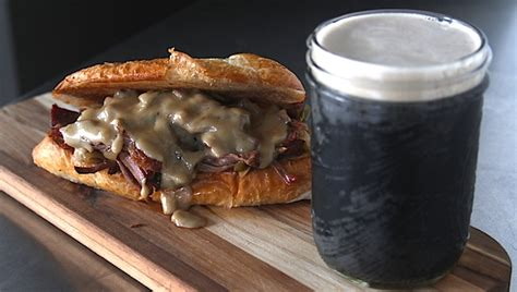 recipe pulled pepper stout chuck roast and guinness