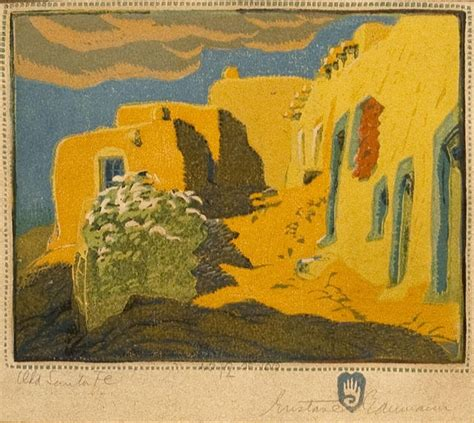 pin by laura mcdonald on santa fe toas new mexico quot my next old santa fe by gustave baumann and then there s art