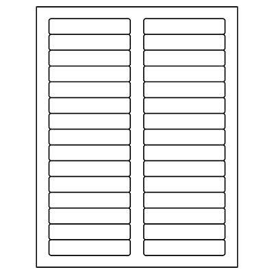 Avery 5366 Template Download Quot X Quot Return Address Labels Inkjet Fresh Avery Label Templates Quill File Folder Labels Template