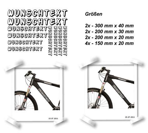 Rennrad Rahmen Aufkleber Entfernen by Rahmen Beschriftung Mtb Rennrad Bike Fahrrad 10 Teilig