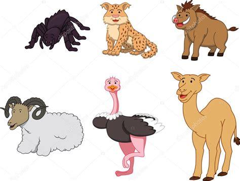 imagenes vectoriales de animales ilustraci 243 n de dibujos animados de animales del desierto