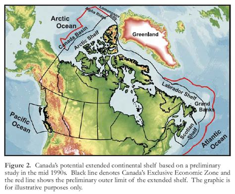 Extended Continental Shelf defining canada s extended continental shelves verhoef geoscience canada