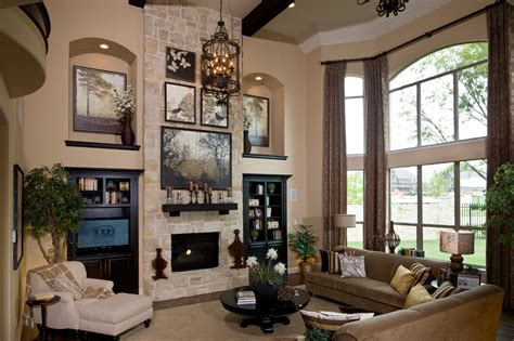 toll brothers living room alon estates luxury new homes in san antonio tx