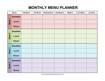 printable monthly food planner monthly meal planner printable listmachinepro com