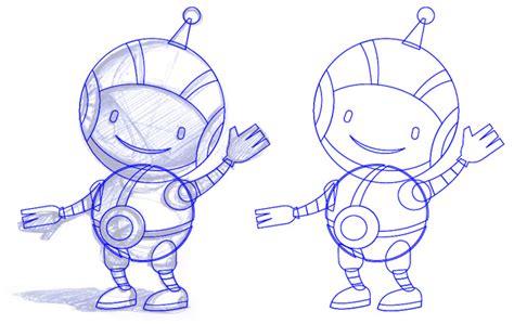 illustrator tutorial zeichenstift ein roboter maskottchen entsteht teil 2 illustration