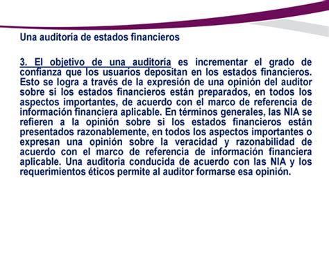 cuando depositan en las becas del estado de mexico 2016 nia 200 objetivos globales del auditor independiente y
