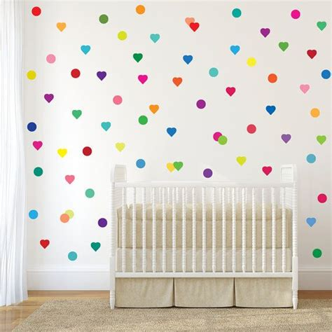 wall stickers polka dots 1000 ideas about polka dot wall decals on