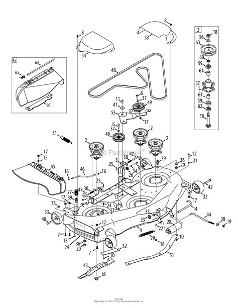 mtd mower deck diagram mtd 13ap925p004 2012 parts diagram for mower deck 50 inch