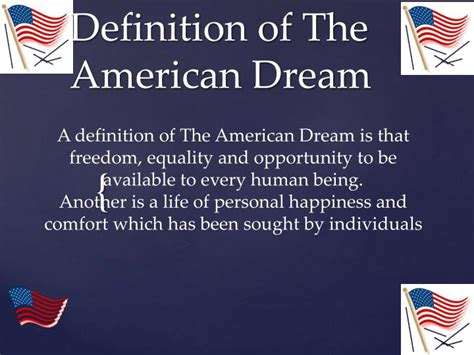 The American Definition Ppt Definition Of The American Powerpoint Presentation Id 2648970
