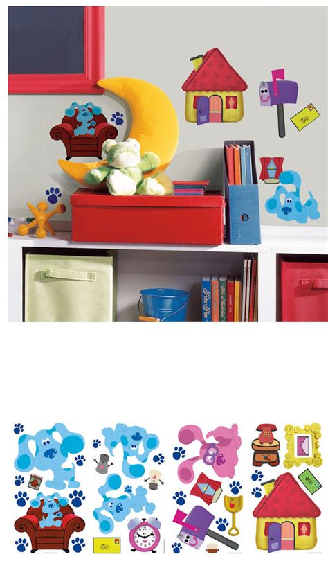 blues clues wall decals sale